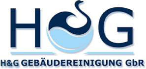 The logo for H & G Gebäudereinigung GbR
